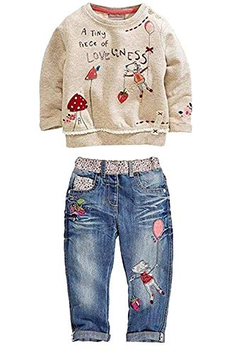 527c8b838e4b9 ... to be for the correct internet site. Currently you're studying among my  own publish about Kids Baby Girl Children Floral Long T-Shirt Top+Jean Pants  Set ...