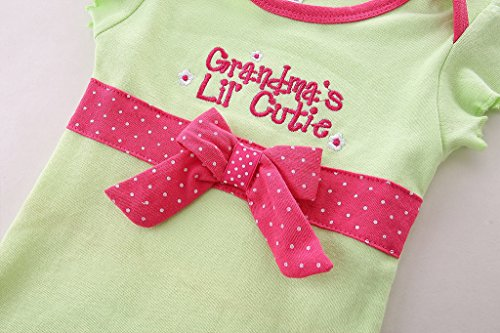 6dfb53fe Skirt Sets – Mud Kingdom Cute Thanksgiving Baby Girl Outfits 0-3 Months Clothes  Sets Grandma's Lil' Cutie 3M Green