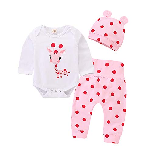 Newborn Baby Girls Summer Clothes Polka Dot Lace Tops Tutu Pants Skirt Outfits