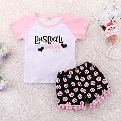 Baseball | Baby Girls Clothing Sets